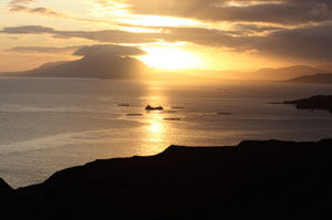 Dawn over Clew Bay