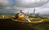 Helicopter at Fanad