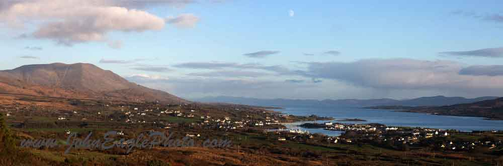 Moonrise over Berehaven