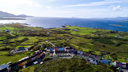 Eyeries village on the Beara peninsula