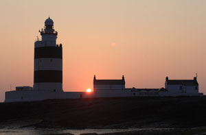 Hook Head at sunset