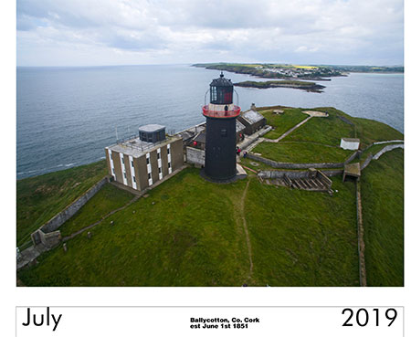 Irish Lighthouse calendar 2019