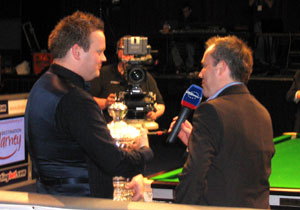 Sean Murphy with John Higgins
