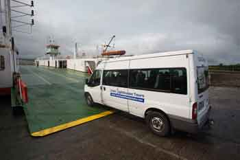Irish Lighthouse tour bus